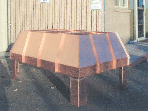 Standing Seam Copper