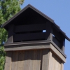 Hip Style Painted Chimney Hood with Belly Bands