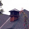 Hip Style Chimney Hood with Tree Cut Outs