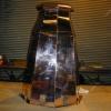 Octagon Copper Chimney Hood