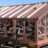 Standing Seam Copper with Tree Design