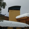 Steel Chimney Hood with Radius Top