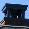Steel Chimney Hood with Wire Mesh