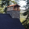 Tree Design Chimney Hood