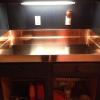 Custom Copper Countertop
