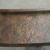 Pounded Copper and Patina Counter