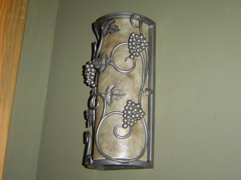Grape Leaf Wall Sconce