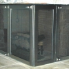 Bifold Stainless Steel Fireplace Doors