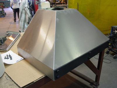 Stainless Steel Kitchen Range Hood