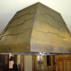 Cold Rolled Overlaid Panels Kitchen Hood Image 1