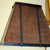 Copper with Steel Straps Hood Image 1