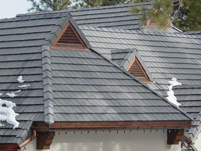 Copper Triangle Louvers