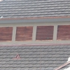 Copper Square Louvers