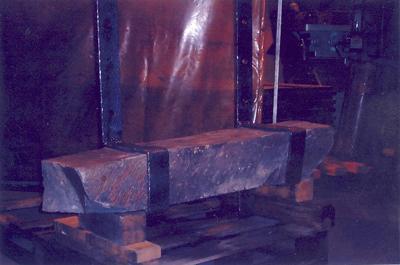 Pounded Stone Mantel Straps