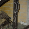 Fireplace Door handles with Latch