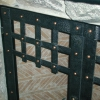 Forged Steel and Copper Rivet Fireplace Doors Image 2