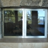 Stainless Steel Bifold Doors with Glass