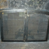 Steel Fireplace Doors with Mesh
