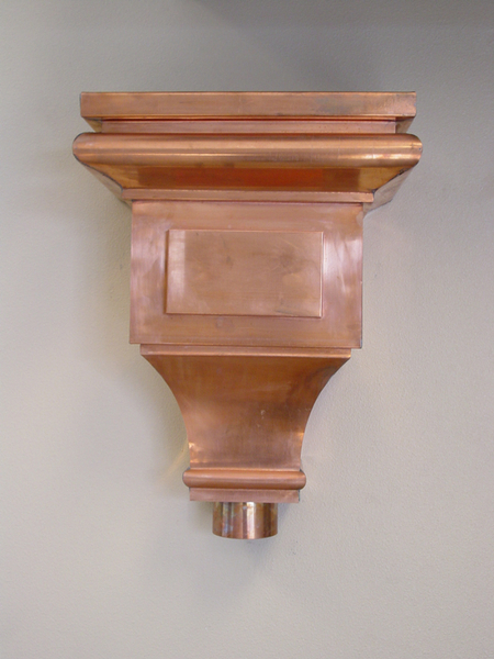 Copper Scupper