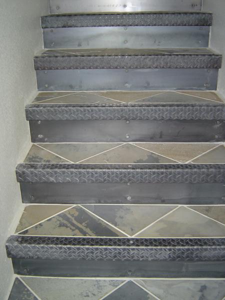 Steel Stair Risers