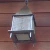Steel with Mesh Interior Light Fixture