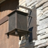 Steel with Wire Mesh Exterior Light Fixture