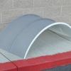 Zinc Round Standing Seam Roof