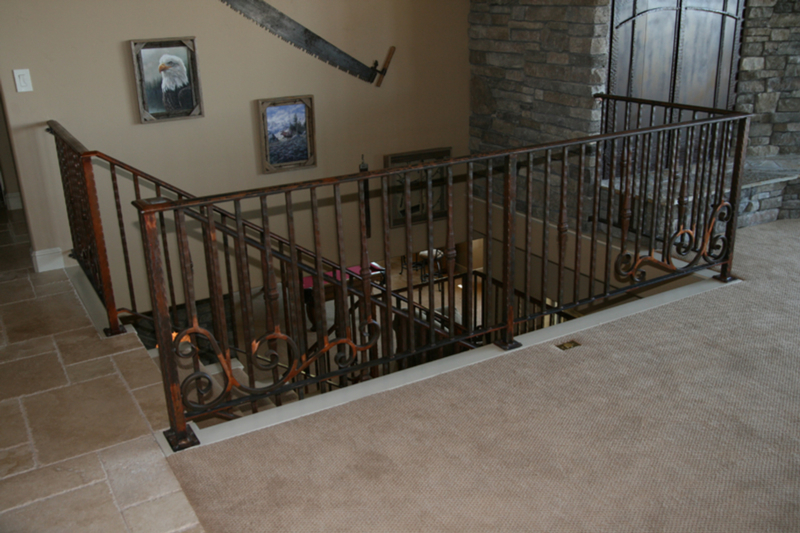 Patina Steel Handrail Image 2