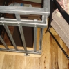 Box Tube and Steel Picket Handrail