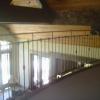 Hand Forged Radius Steel Handrail