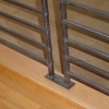 Pounded and Forged Handrail