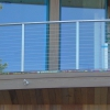 Stainless Steel Cable and Box Tubing Guardrail Image 2