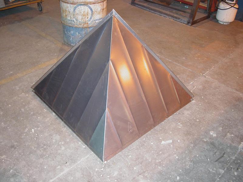 Corten Ribbed Cupola