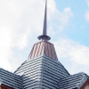 Stainless Steel Spire – Standing Seam Copper Cupola