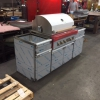 Custom Stainless Steel BBQ Cabinets