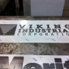 Stainless Steel and Hot Rolled Sign with Stand-off Letters Image 1